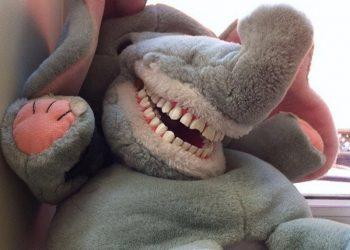 Травма детства: зубастые игрушки в кабинетах стоматологов (20 фото)