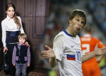 Юлия Барановская всячески привлекает внимание Аршавина с помощью младшего сына