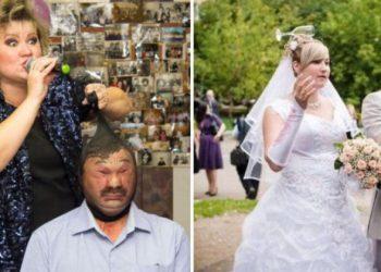 20 забавных свадебных кадров: кто во что горазд (21фото)