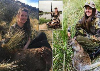 Охотница из Новой Зеландии получает комментарии с угрозами, но это ее не смущает (12фото)