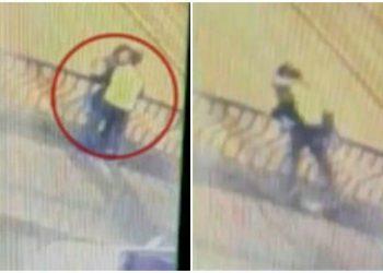 В Перу влюбленная пара упала с моста во время поцелуя (3фото+1видео)