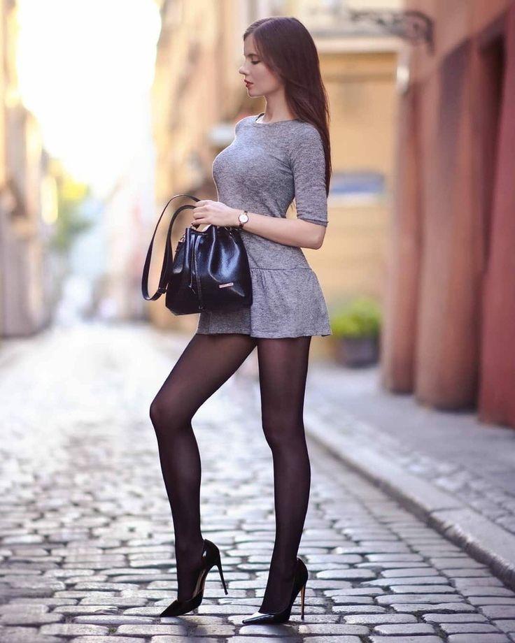 Девушки в мини - 160 фото красоток в юбках и платьях