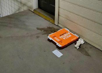 Как заставить соседа выносить мусор? (5фото)