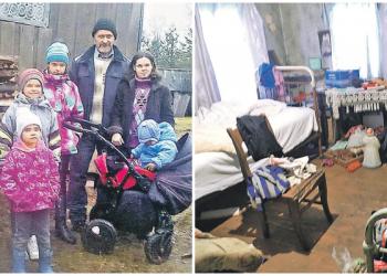 Многодетная семья прячется от органов опеки, спасая своих детей (5фото)