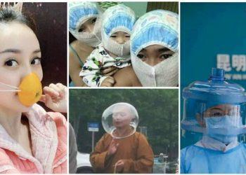 30 китайских креативщиков, которые точно защищены от коронавируса (32фото)