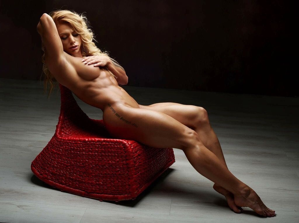 Sexy Naked Athletic Girls