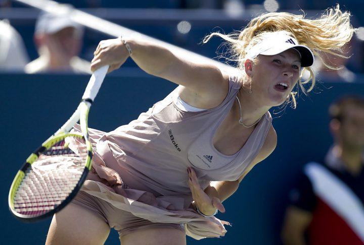 Во время матча теннисистка засветила свои трусы